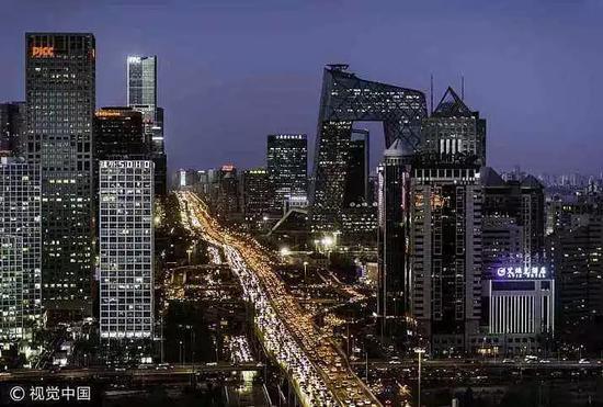 ▲北京夜景。 图片来源:视觉中国