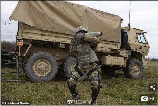 测试显示,该系统可增强士兵耐力 图据《每日邮报》