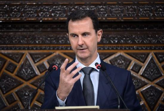 叙利亚总统巴沙尔。新华社/叙通社