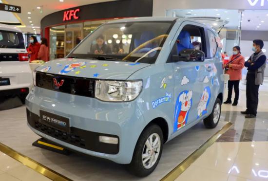 五菱宏光新能源车为何在沪被限牌?其他城市正常售卖图片