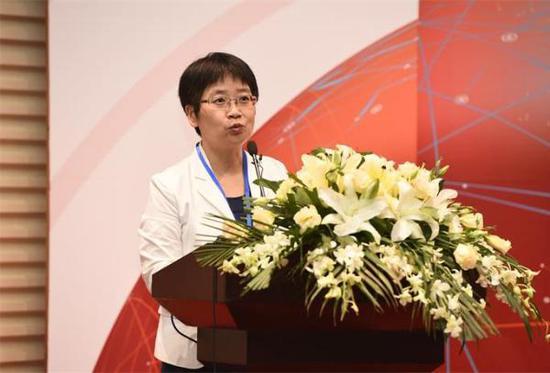 """李春燕博士发布全球首个""""三创""""指数。 央广网 图"""