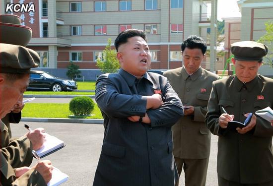 朝鲜最高领导人金正恩(图源:新华社/朝中社)