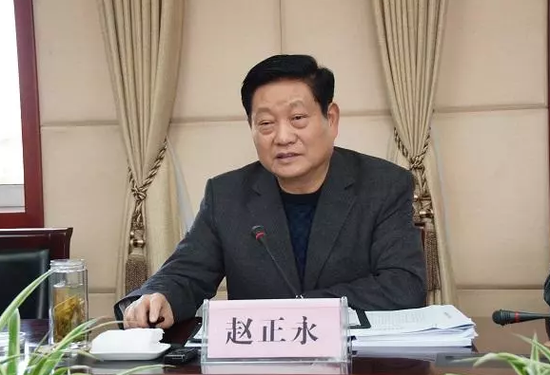 陕西省委原书记赵正