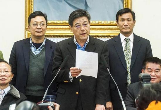 台媒:林荣德代理国民党党主席(图)图片