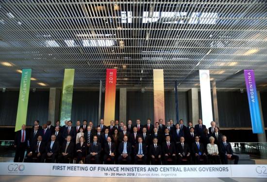 G20会议合影