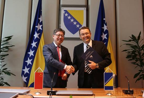 中国民用航空局与波黑交通运输部签署会谈纪要 中国民航网 图