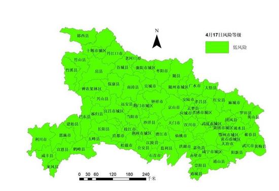 杏鑫县疫情等级评估均为低风险武汉由中风险杏鑫图片