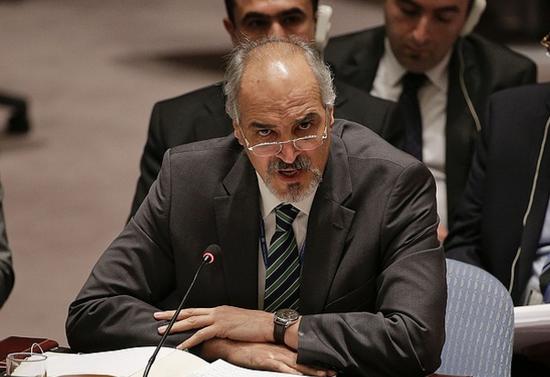 叙利亚驻联合国大使巴沙尔·贾法里