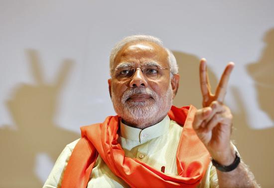 (印度总理莫迪。)