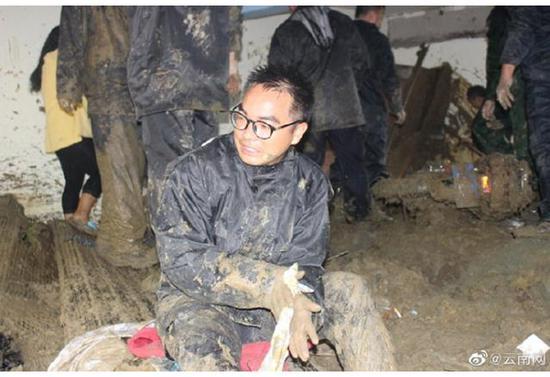 云南金平县暴雨引发山体滑坡 已致3人遇难