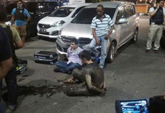 台男子在印尼贩毒还拒捕 被警方击中伤重身亡