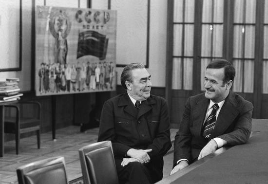 老阿萨德与勃列日涅夫