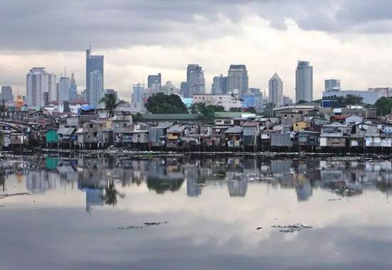 ▲菲律宾马尼拉(彭博新闻社)