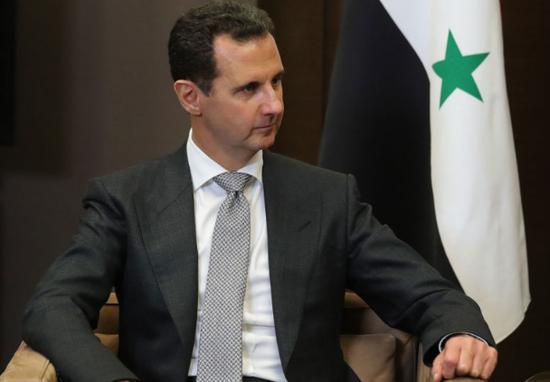 叙总统阿萨德(俄罗斯卫星网)