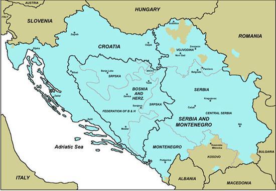 塞尔维亚-克罗地亚语分布区