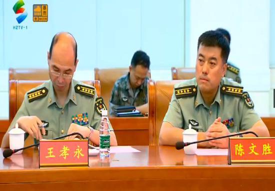 8月29日下午,惠州市军政座谈会在74集团军驻地举行