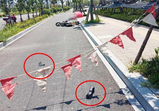 杭州骑电瓶车女子被工程警示绳割喉 责任如何认定?
