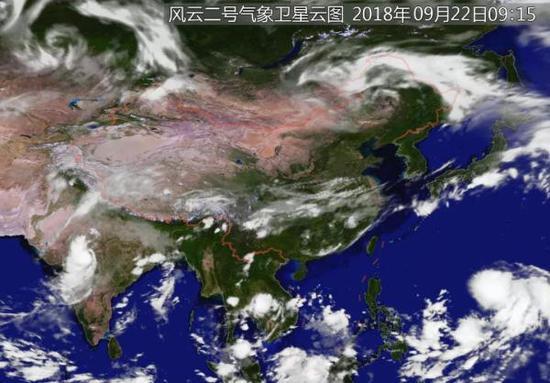 今年第24号台风已生成 未来三天对中国近海无影响