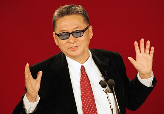 台湾著名作家李敖 视觉中国 资料图