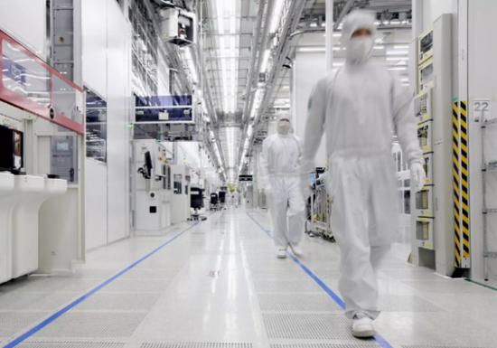 三星公司在中国的芯片工厂(网络图片)