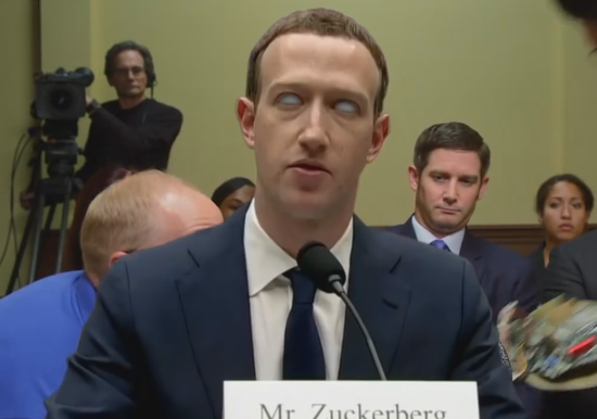 """扎克伯格被质疑是智能机器人 电视节目恶搞其""""死机"""