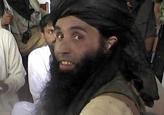 巴基斯坦塔利班头目法兹卢拉资料图