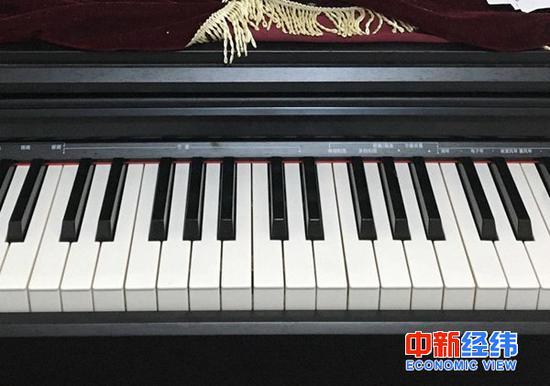 ▲小徐的钢琴 受访者供图