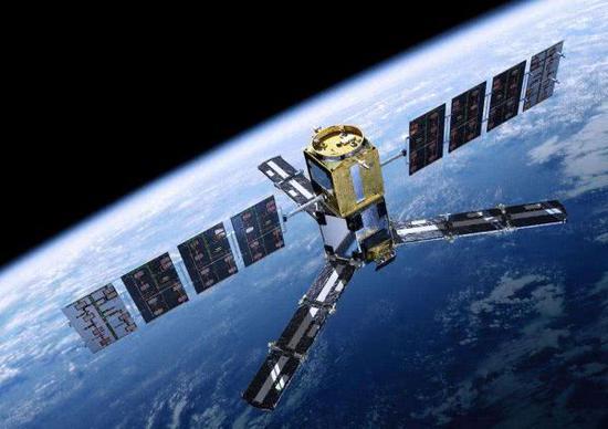 图为美国军用卫星示意图