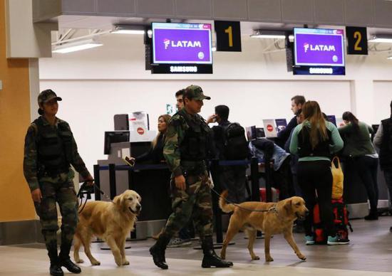 智利男子因行李被弄丢报假警泄愤 致多航班迫降