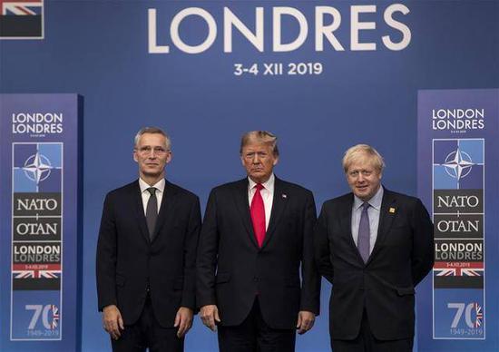 此前北约峰会在伦敦举行