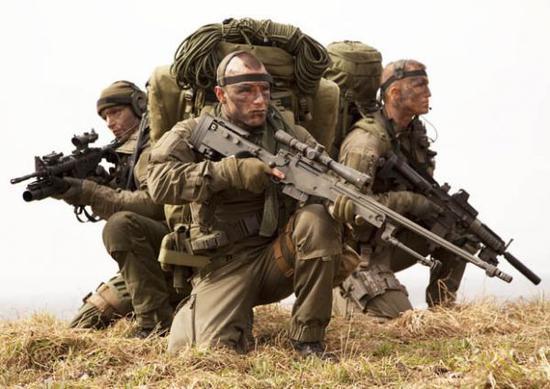 """资料图片:英国""""特别空勤团""""(SAS)特战队员。(图片来源于网络)"""