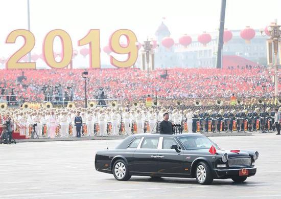 2019年10月1日,庆祝中华人民共和国成立70周年大会在北京天安门广场隆重举行。