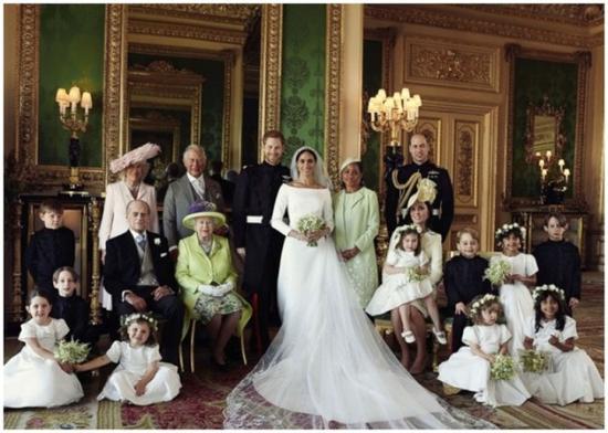 英王室全家福