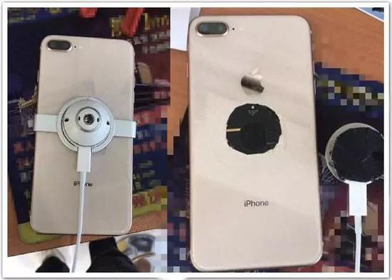 去年的iPhone 8Plus