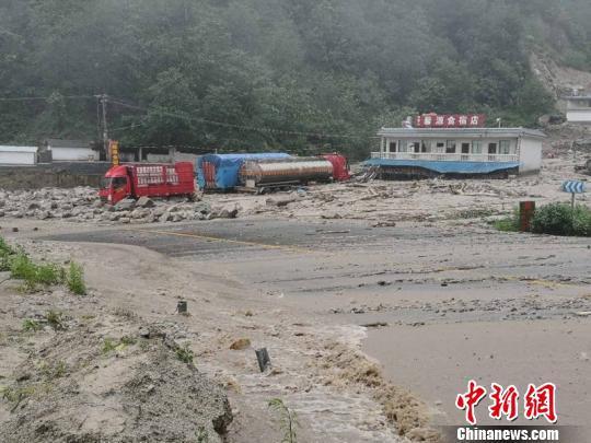 图为事故现场。临沧市委宣传部提供