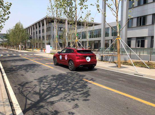 雄安移动在雄安市民服务中心成功实现5G自动远程驾驶启动及行驶测试。