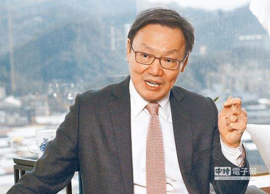 """台当局前""""国安会�z书长""""苏起。(图片来源:台湾《中时电子报》)"""