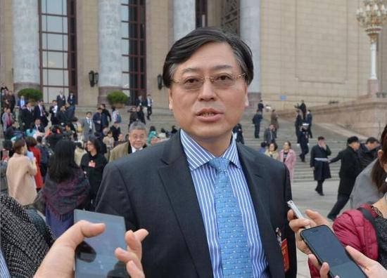 全国人大代表、联想集团董事长兼CEO杨元庆 东方IC 图