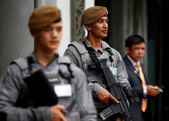 廓尔喀士兵
