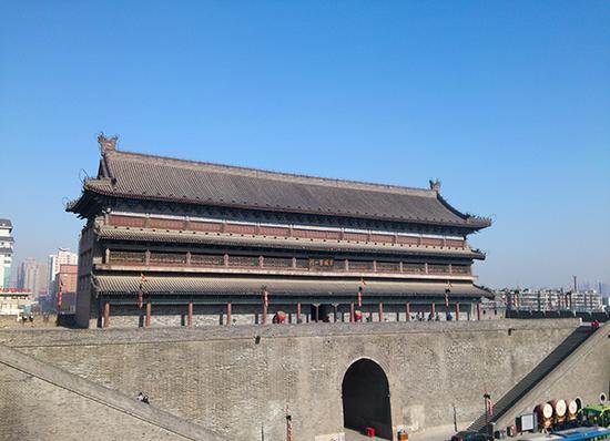 西安明城墙。东方IC 资料图