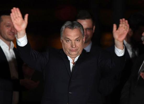 匈牙利现任总理、青民盟主席欧尔班 视觉中国 图