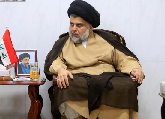 什叶派阿拉伯人宗教领袖萨德尔。(图片来源:路透社)
