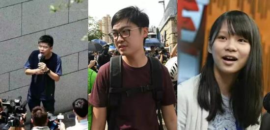 """黄之锋等""""港独""""接连被捕 台湾网友:抓得好"""