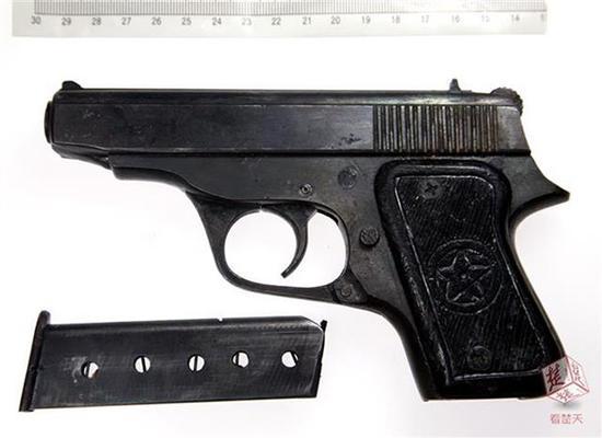 案犯作案的枪支