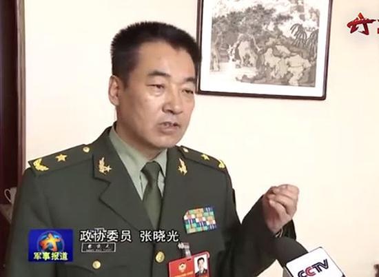 """全国政协委员、""""英雄航天员""""张晓光"""