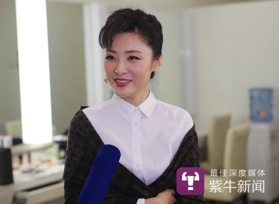 周涛接受紫牛新闻记者采访 陈俨 摄 视觉江苏网供图