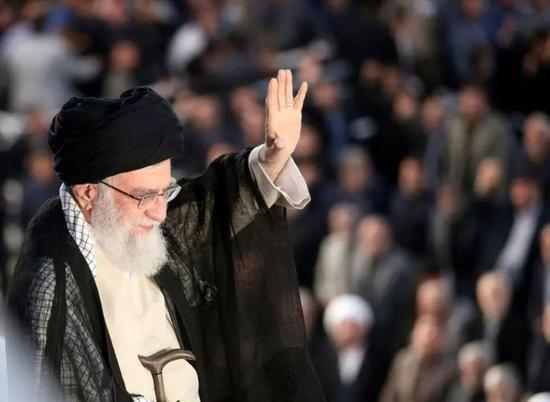 ▲伊朗最高领袖哈梅内伊。 图片来源:视觉中国