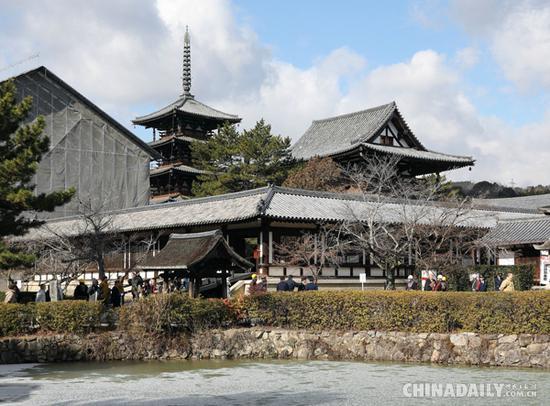 日本著名寺院药师寺住持村上太胤近日宣布辞职。 东方IC 图