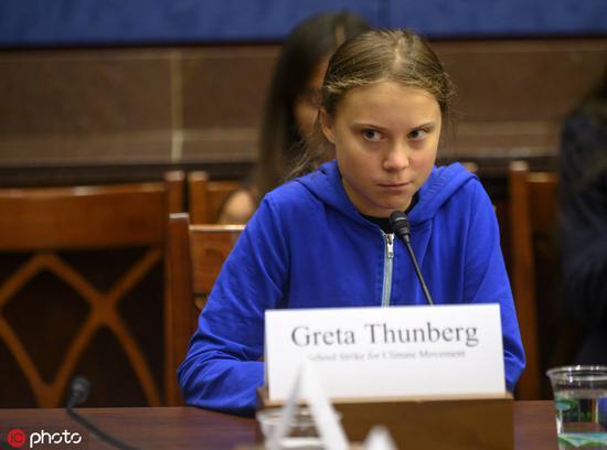 新世纪网赚论坛_16岁瑞典女孩被议员表扬却不屑:你们该听科学家的