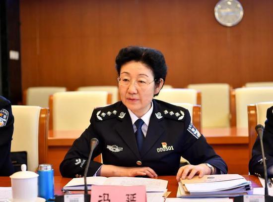 冯延 资料图 图源:中国人民公安大学官网